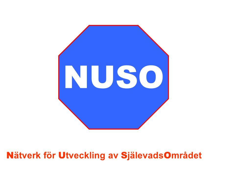 NUSO Nätverk för Utveckling av SjälevadsOmrådet