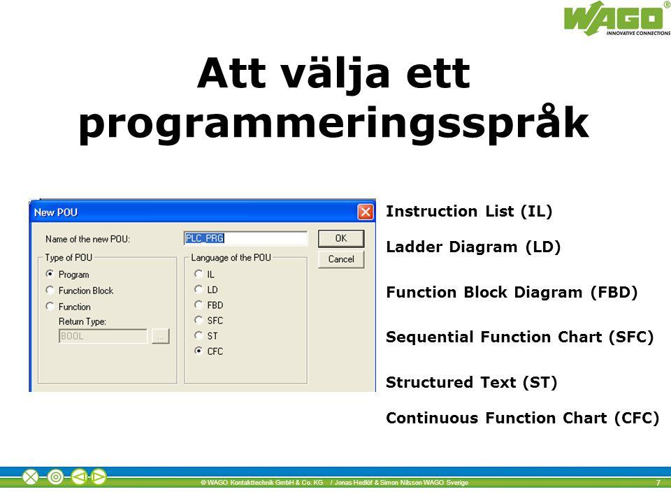 Att välja ett programmeringsspråk