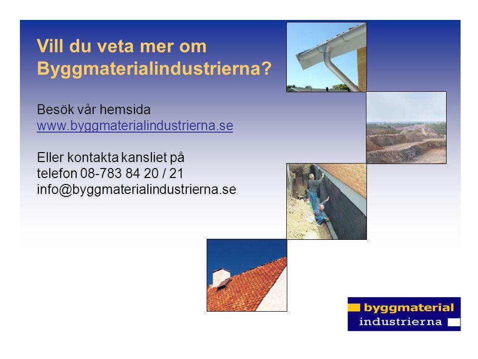 Byggmaterialindustrierna