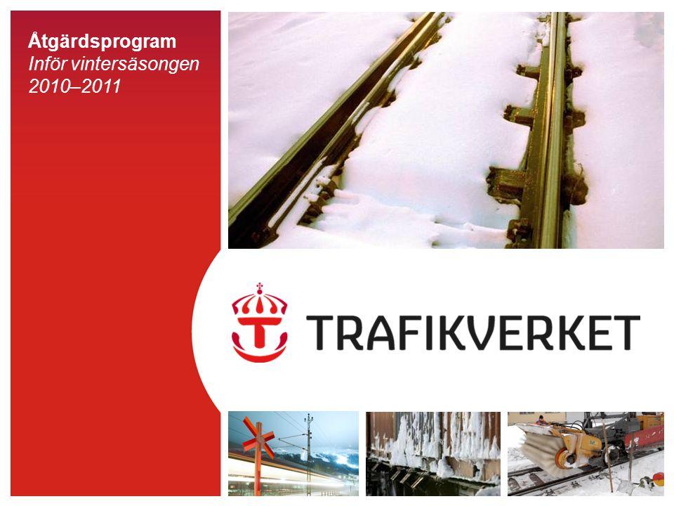 Åtgärdsprogram Inför vintersäsongen 2010–2011