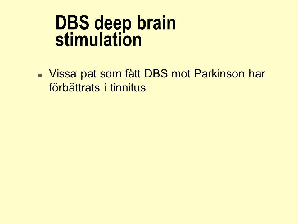 DBS deep brain stimulation