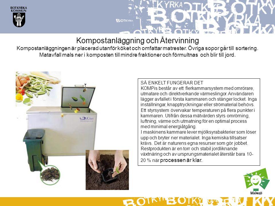 Kompostanläggning och Återvinning