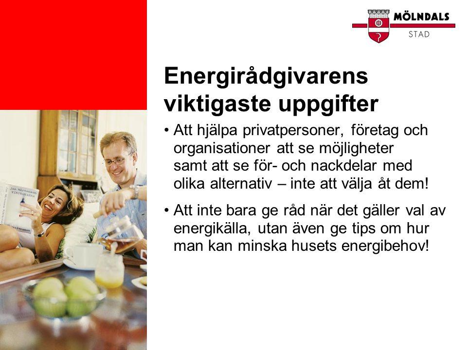 Energirådgivarens viktigaste uppgifter