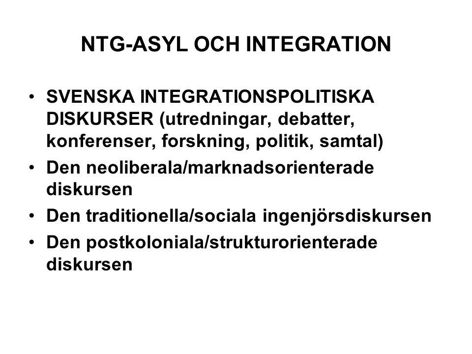 NTG-ASYL OCH INTEGRATION