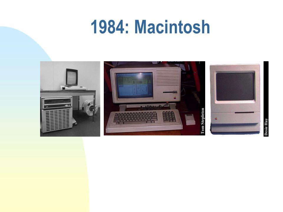1984: Macintosh