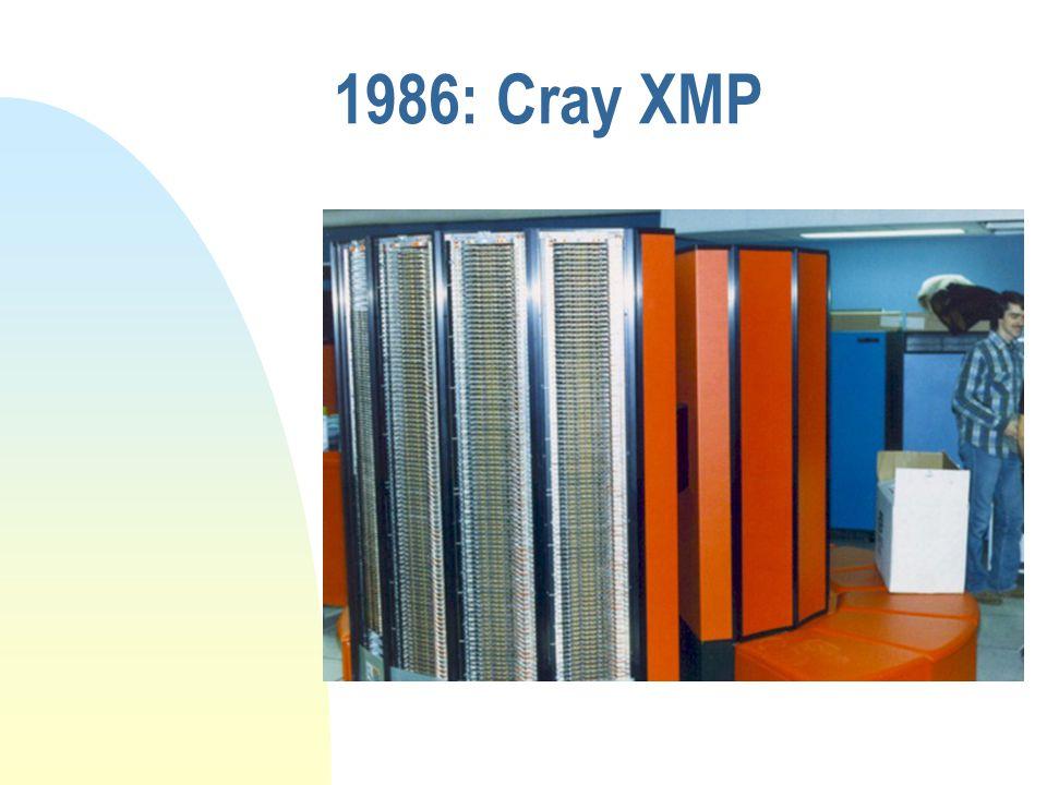 1986: Cray XMP