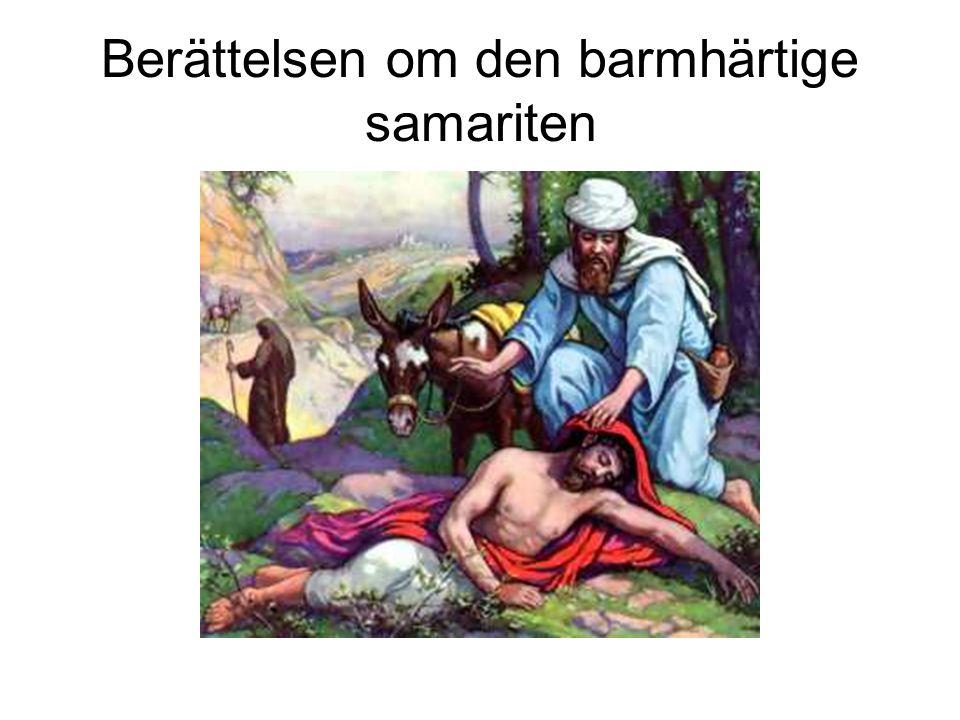 Berättelsen om den barmhärtige samariten