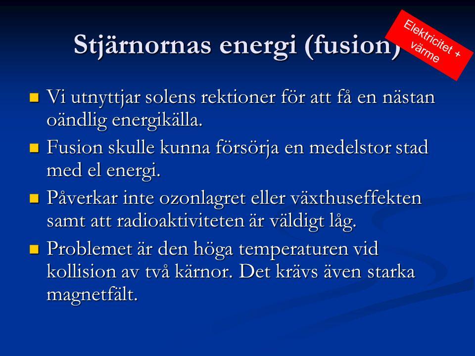Stjärnornas energi (fusion)
