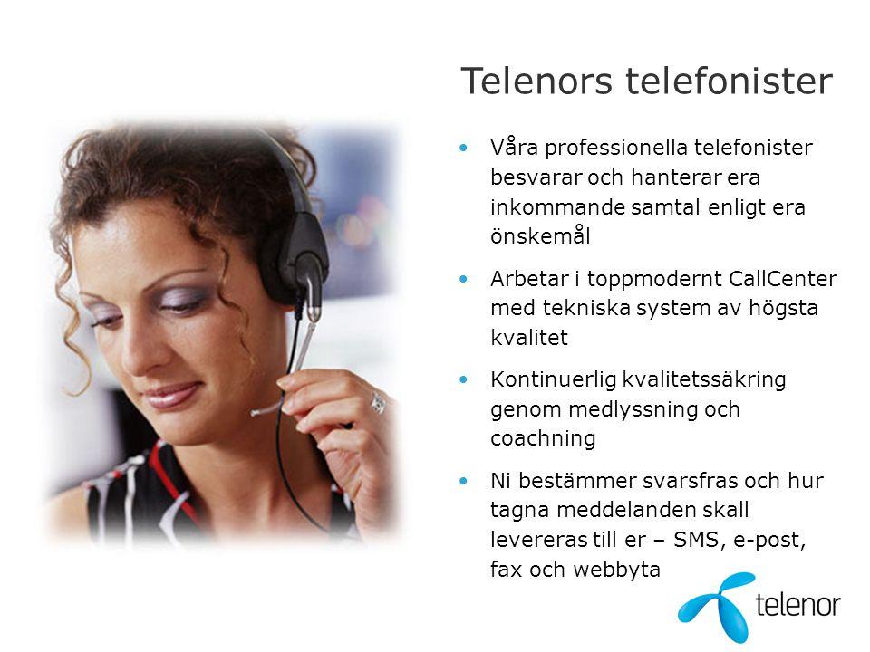 Telenors telefonister