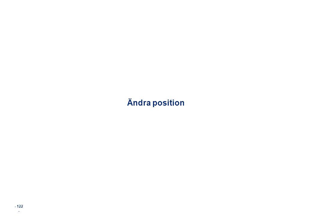 Ändra position - 122 - 122
