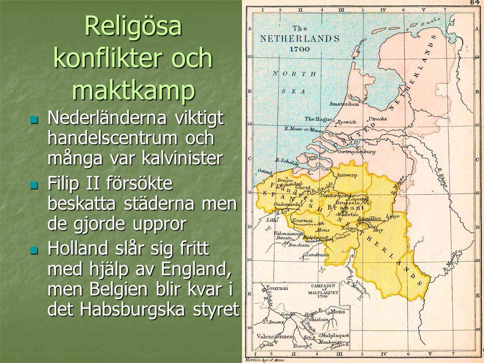 Religösa konflikter och maktkamp