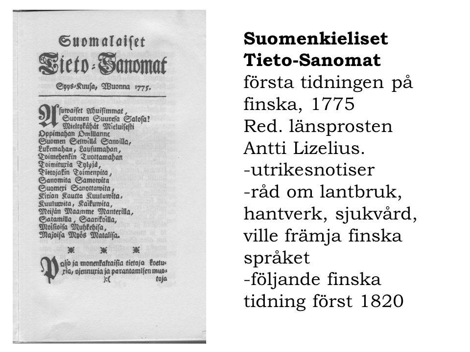 Suomenkieliset Tieto-Sanomat