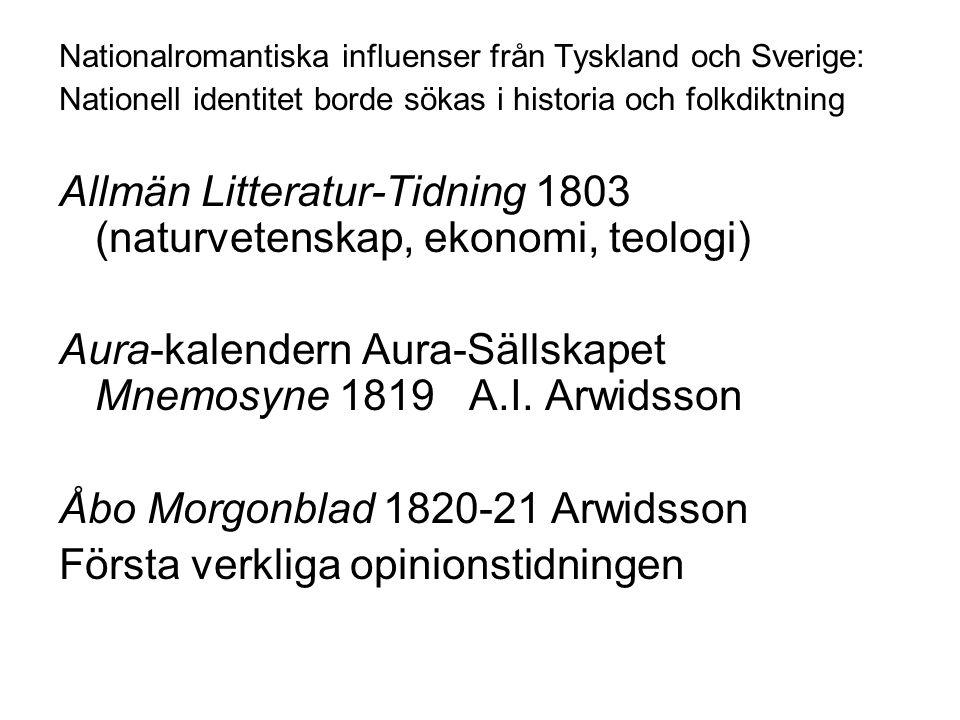 Allmän Litteratur-Tidning 1803 (naturvetenskap, ekonomi, teologi)