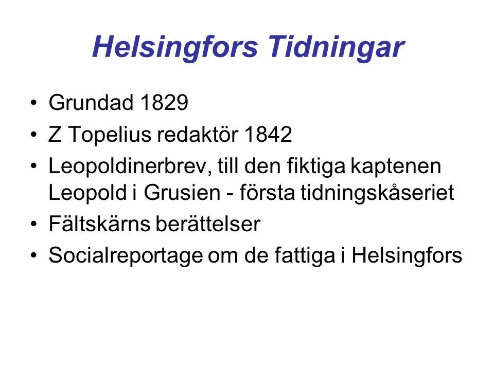Helsingfors Tidningar