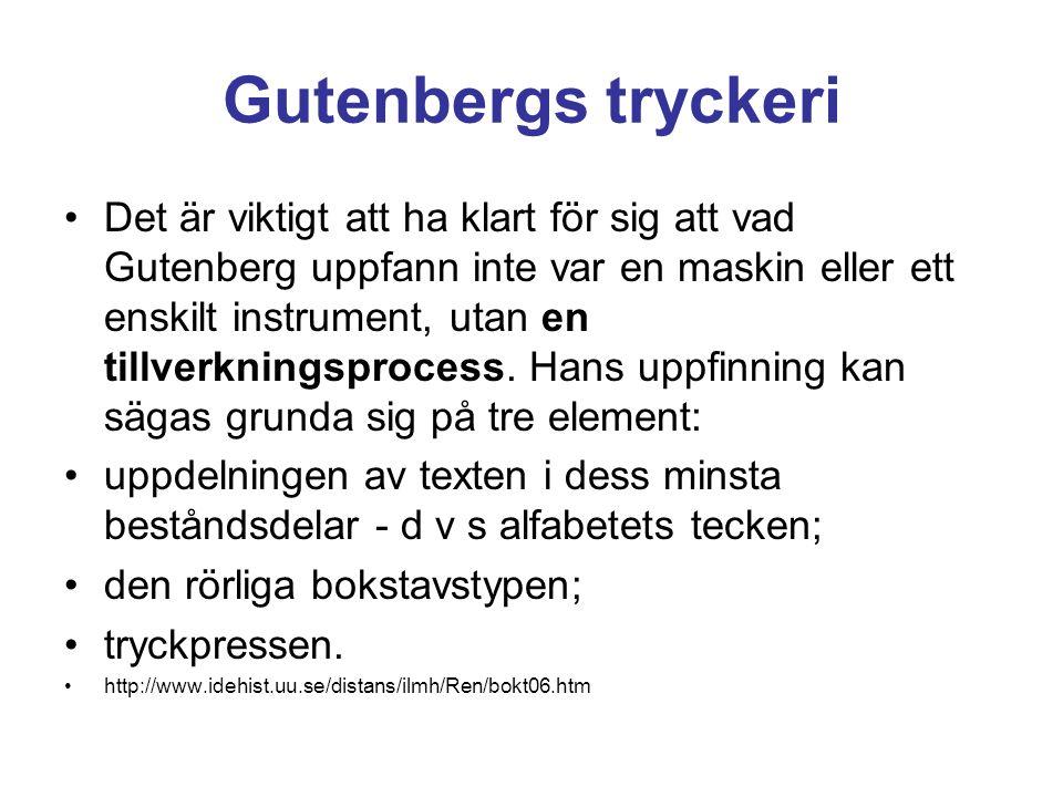 Gutenbergs tryckeri