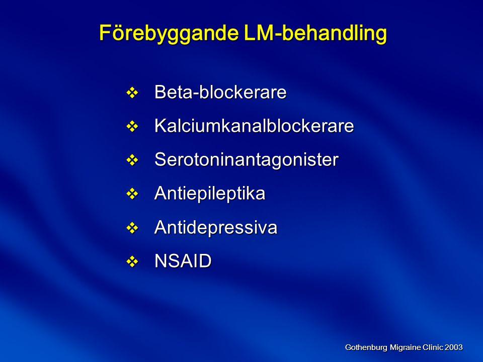 Förebyggande LM-behandling