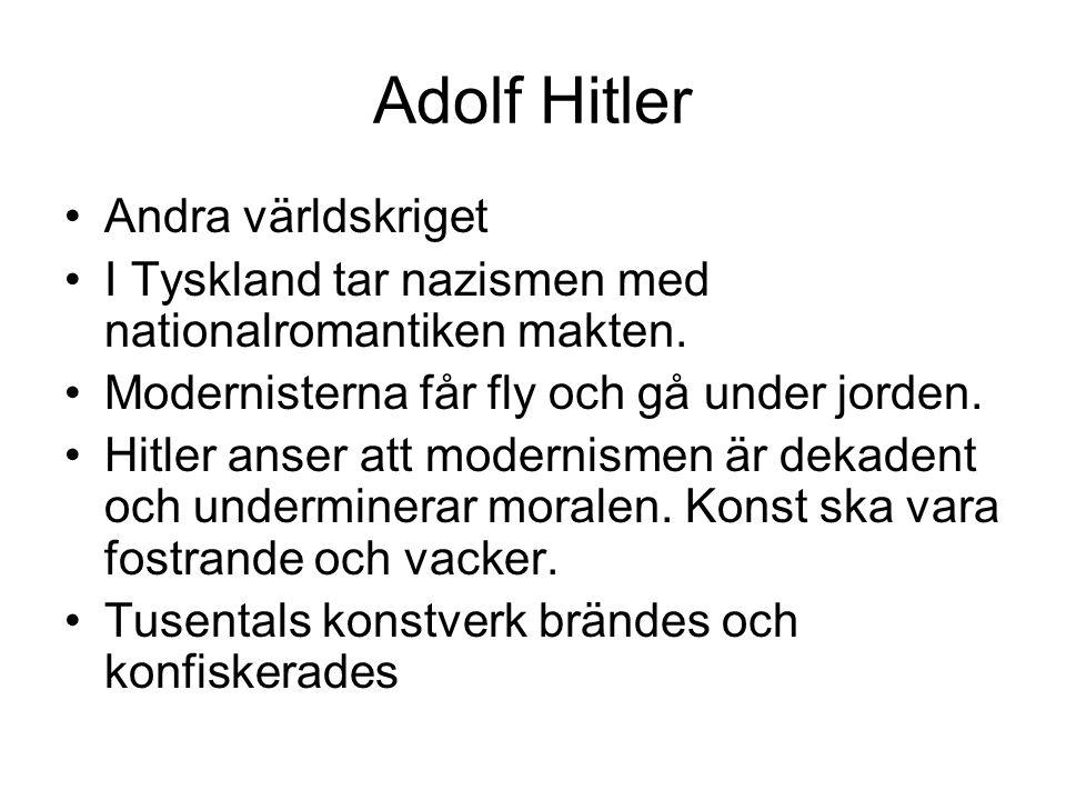 Adolf Hitler Andra världskriget