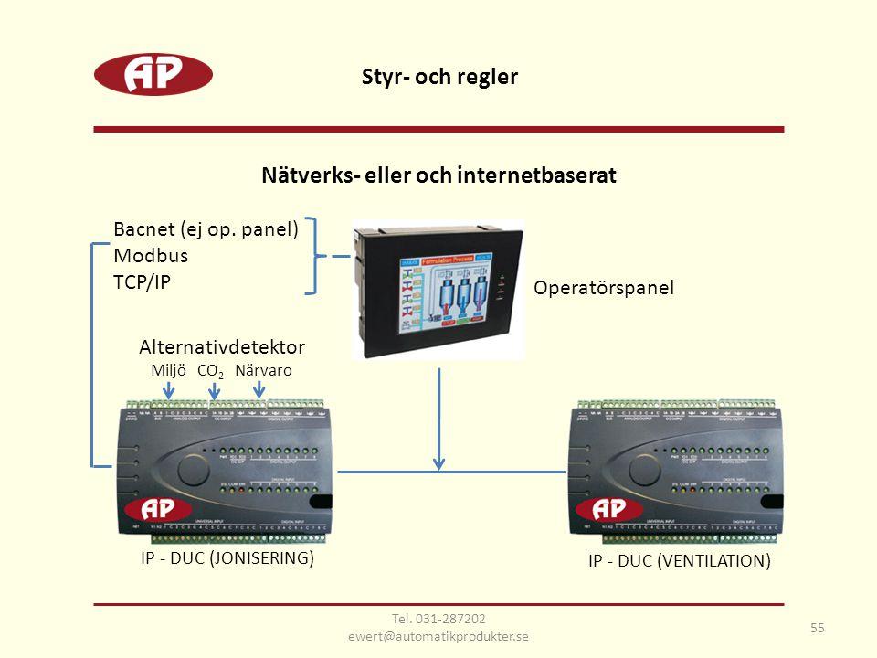 Nätverks- eller och internetbaserat