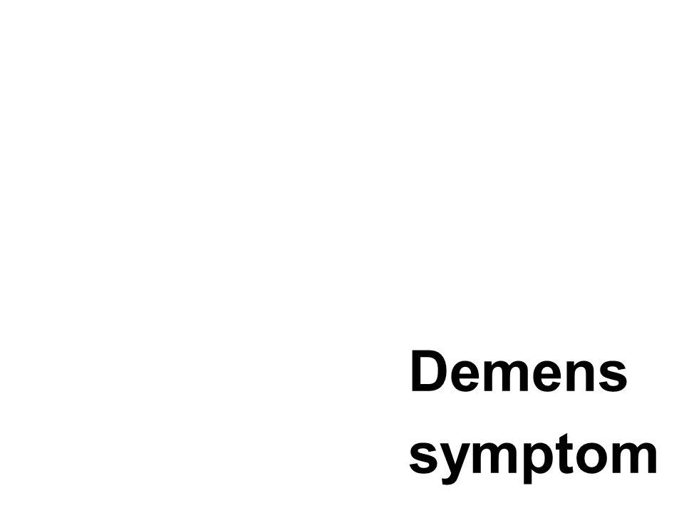 Demens symptom