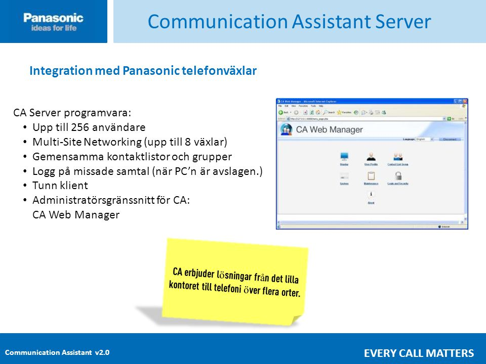 Communication Assistant Server