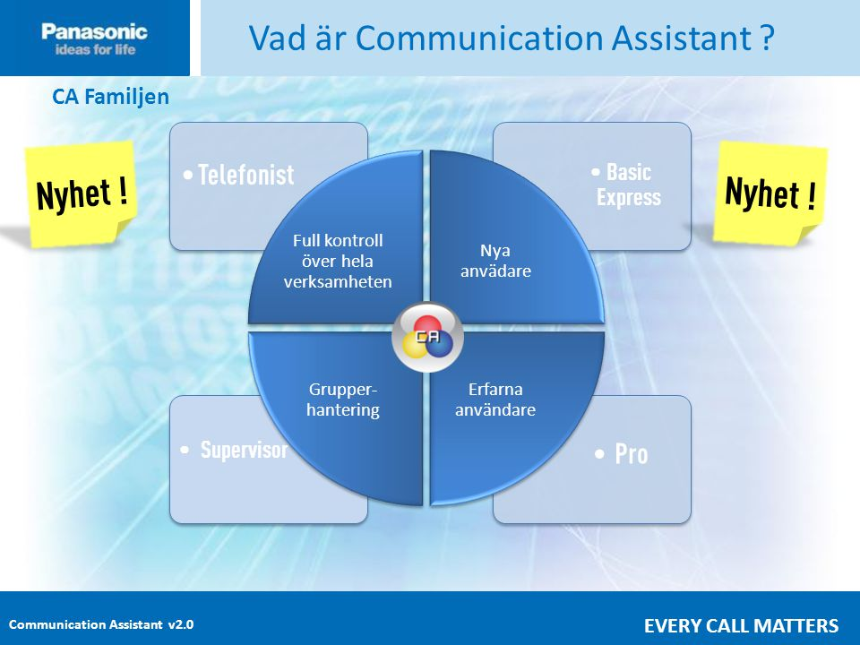 Vad är Communication Assistant