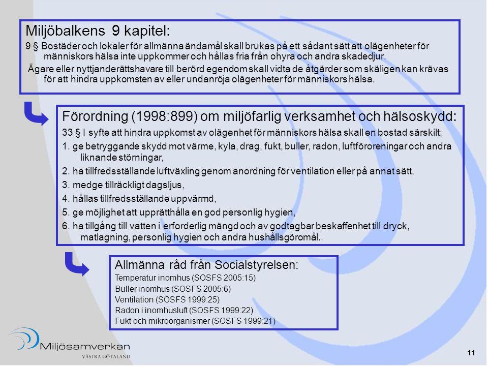 Exempel på regelhierarki