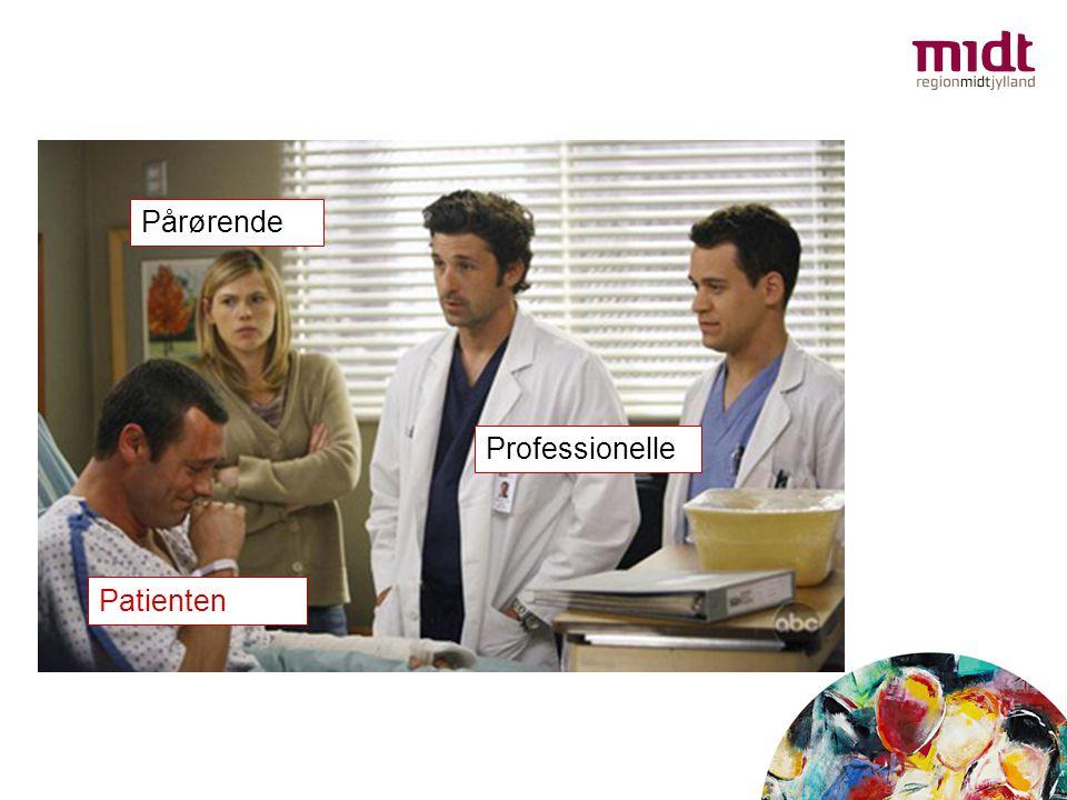 Pårørende Professionelle Patienten