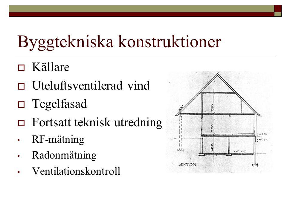 Byggtekniska konstruktioner