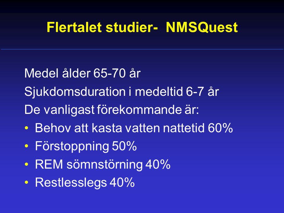 Flertalet studier- NMSQuest
