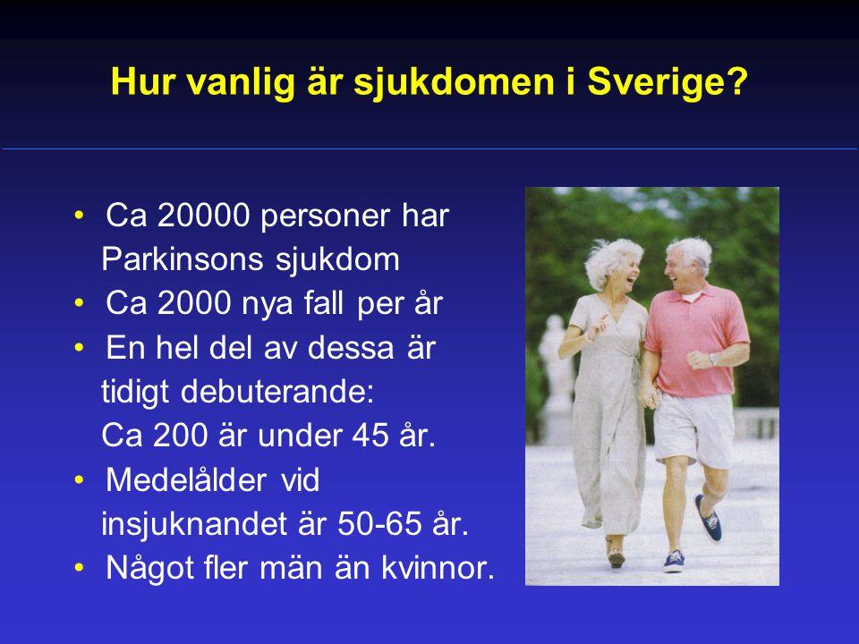 Hur vanlig är sjukdomen i Sverige