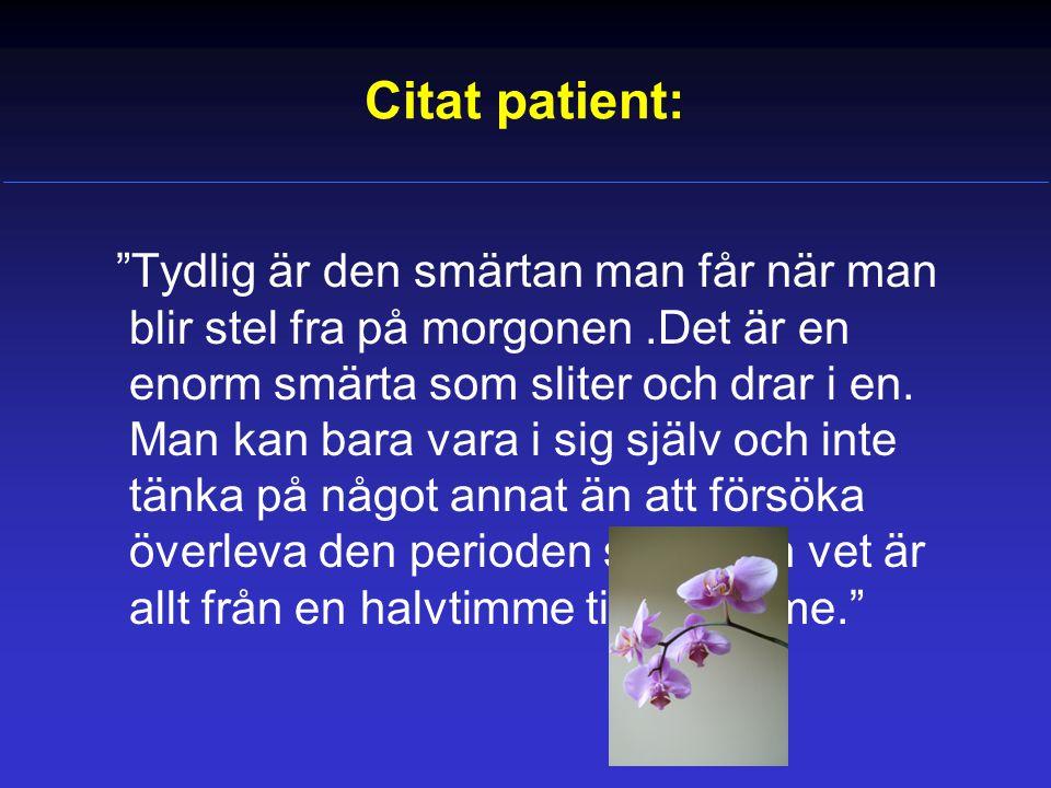 Citat patient: