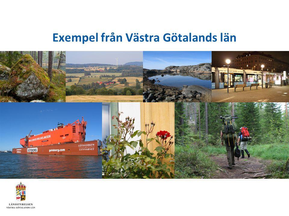 Exempel från Västra Götalands län