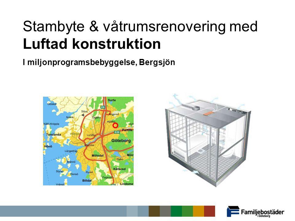 Stambyte & våtrumsrenovering med Luftad konstruktion