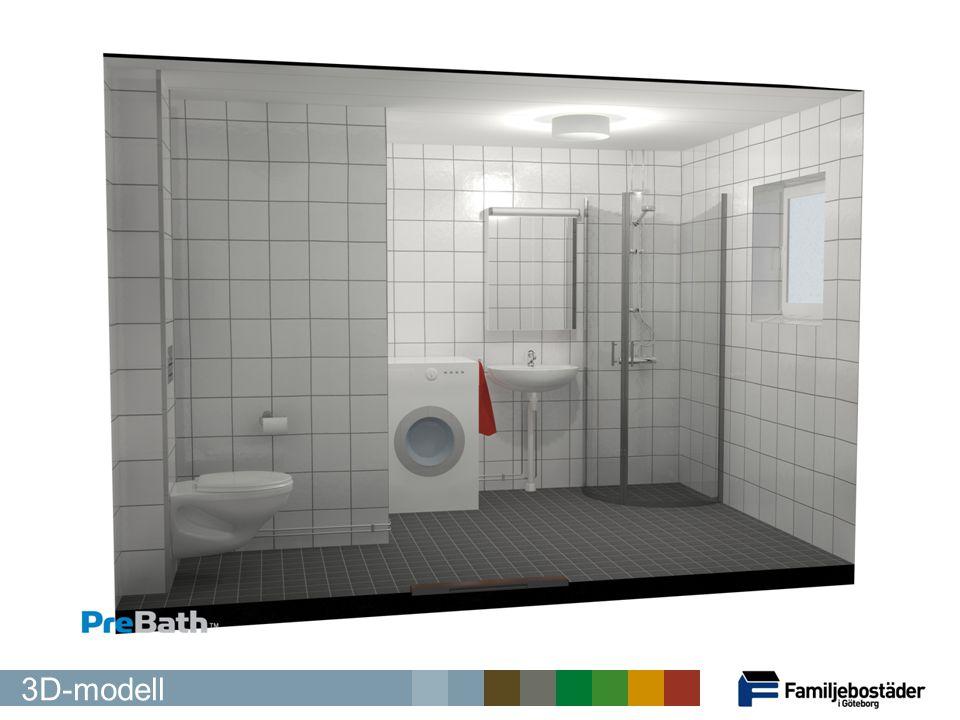Och här är en med dusch 3D-modell