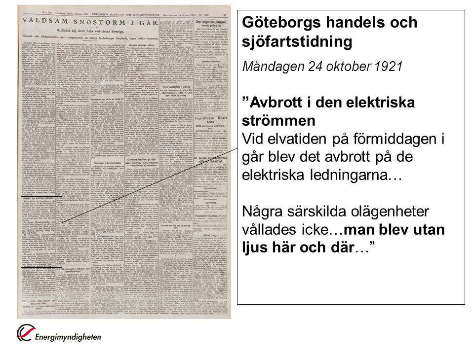 Göteborgs handels och sjöfartstidning