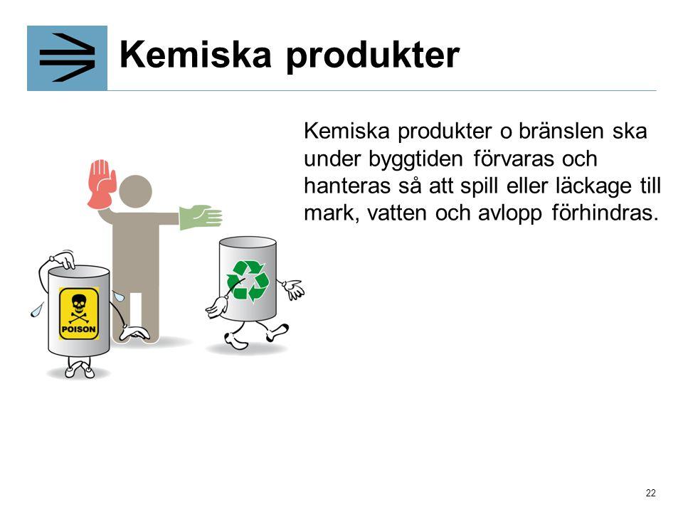 Kemiska produkter