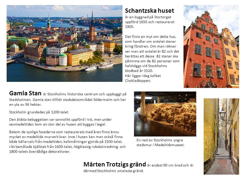 Schantzska huset är en byggnad på Stortorget uppförd 1650 och restaurerat 1905.