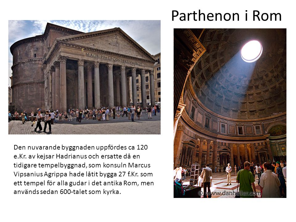 Parthenon i Rom