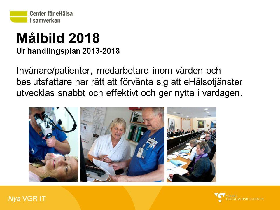Målbild 2018 Ur handlingsplan 2013-2018