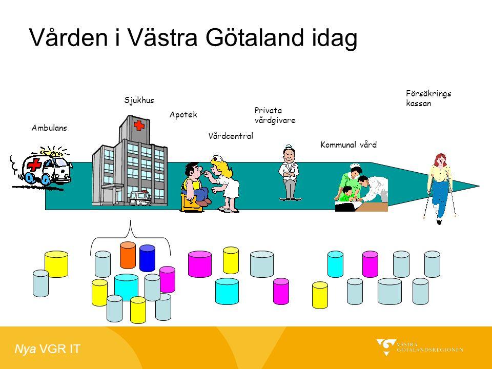 Vården i Västra Götaland idag