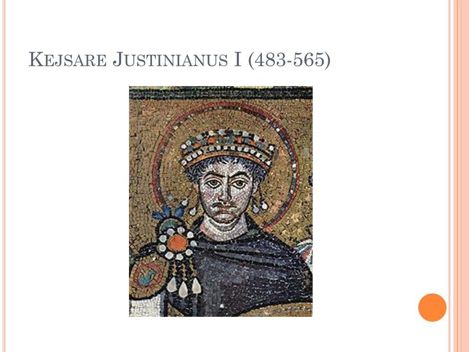 Kejsare Justinianus I (483-565)