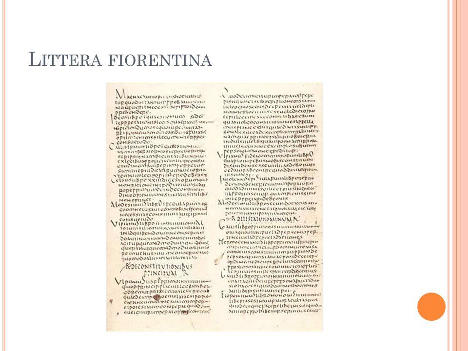 Littera fiorentina