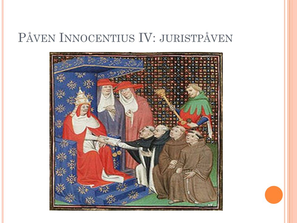 Påven Innocentius IV: juristpåven