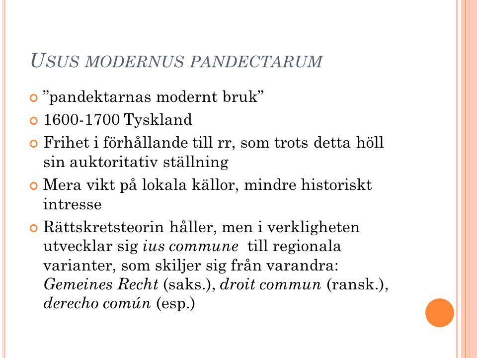 Usus modernus pandectarum