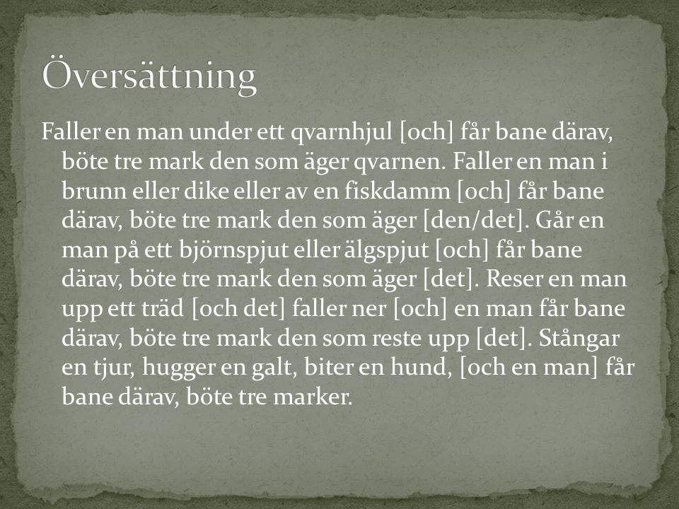 Översättning