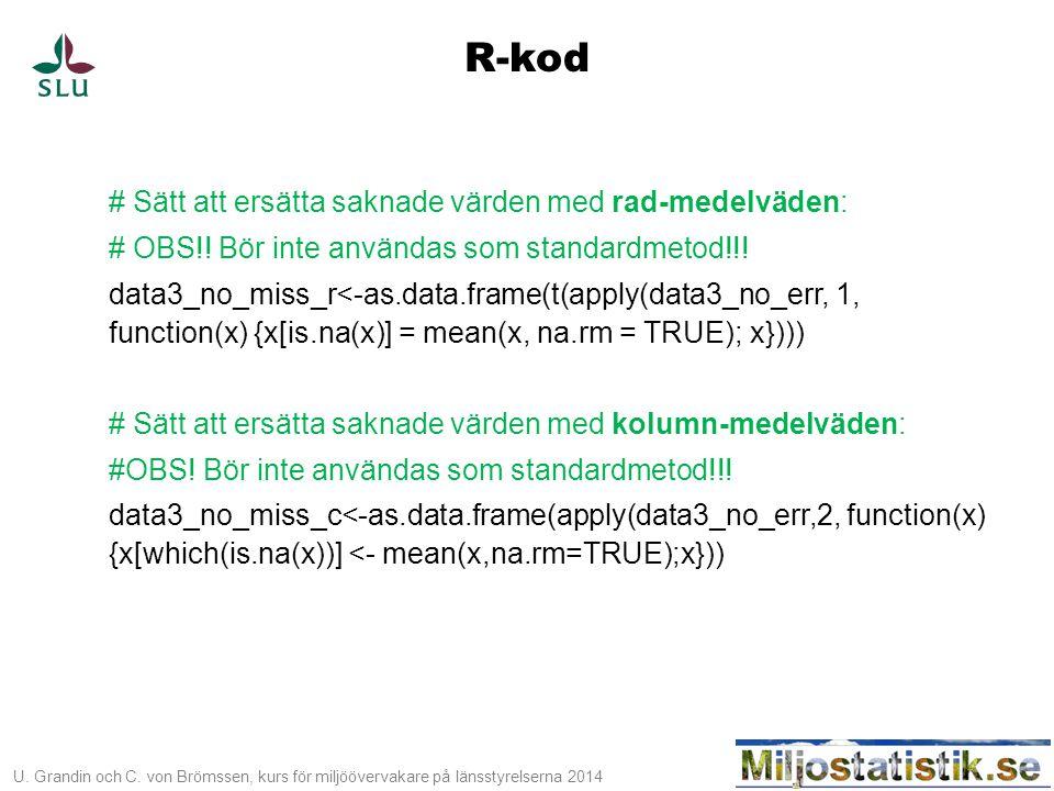 R-kod