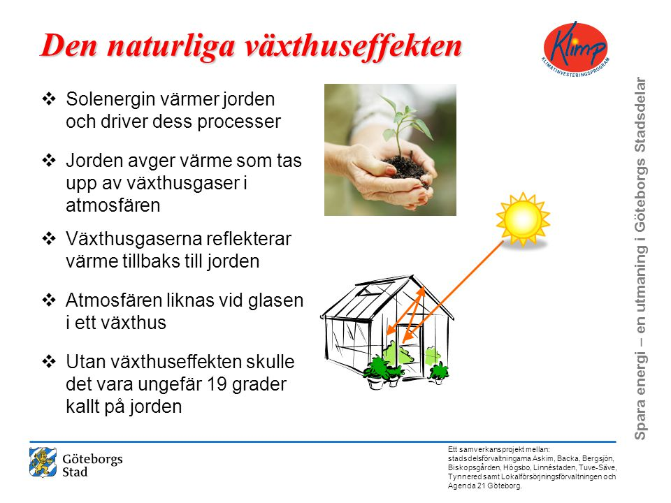 Den naturliga växthuseffekten