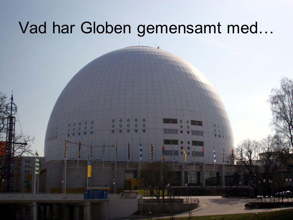 Vad har Globen gemensamt med…