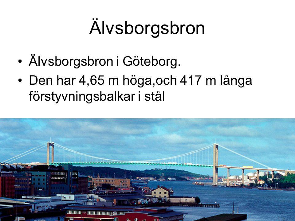 Älvsborgsbron Älvsborgsbron i Göteborg.