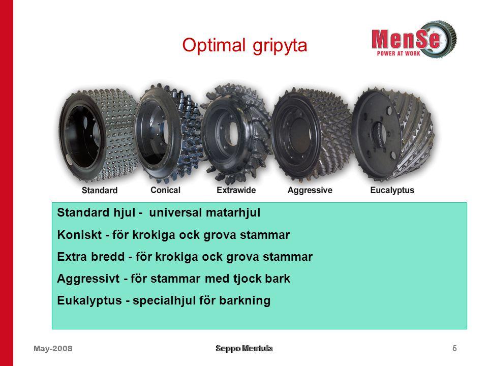 Optimal gripyta Standard hjul - universal matarhjul